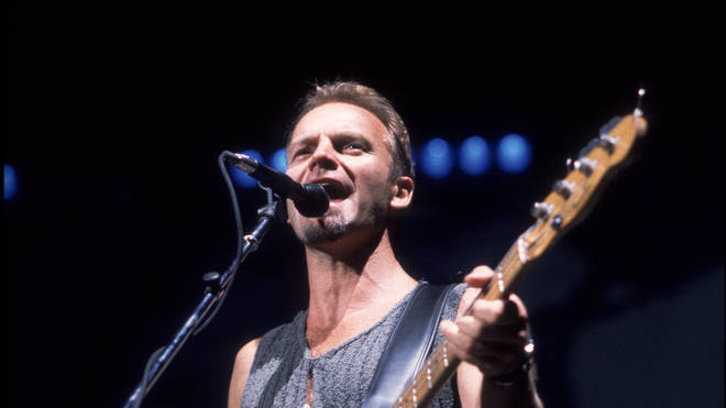 Sting Performs At The Aire Crown Theater