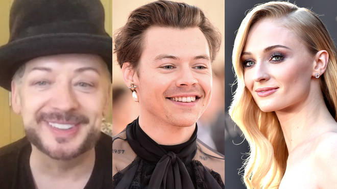 Harry Styles and Sophie Turner have been linked to be playing Boy George