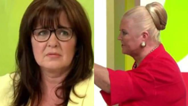 Kim Woodburn and Coleen Nolan