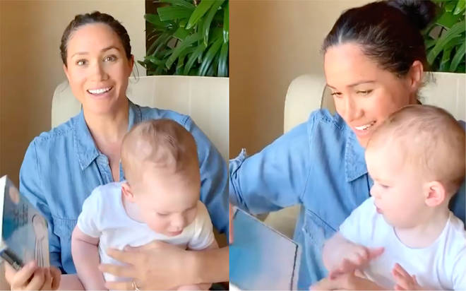 Harry and Meghan share birthday video as baby Archie turns one