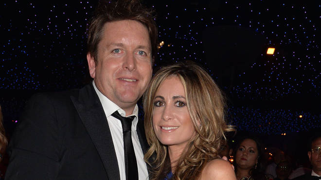 James Martin and Louise Davies