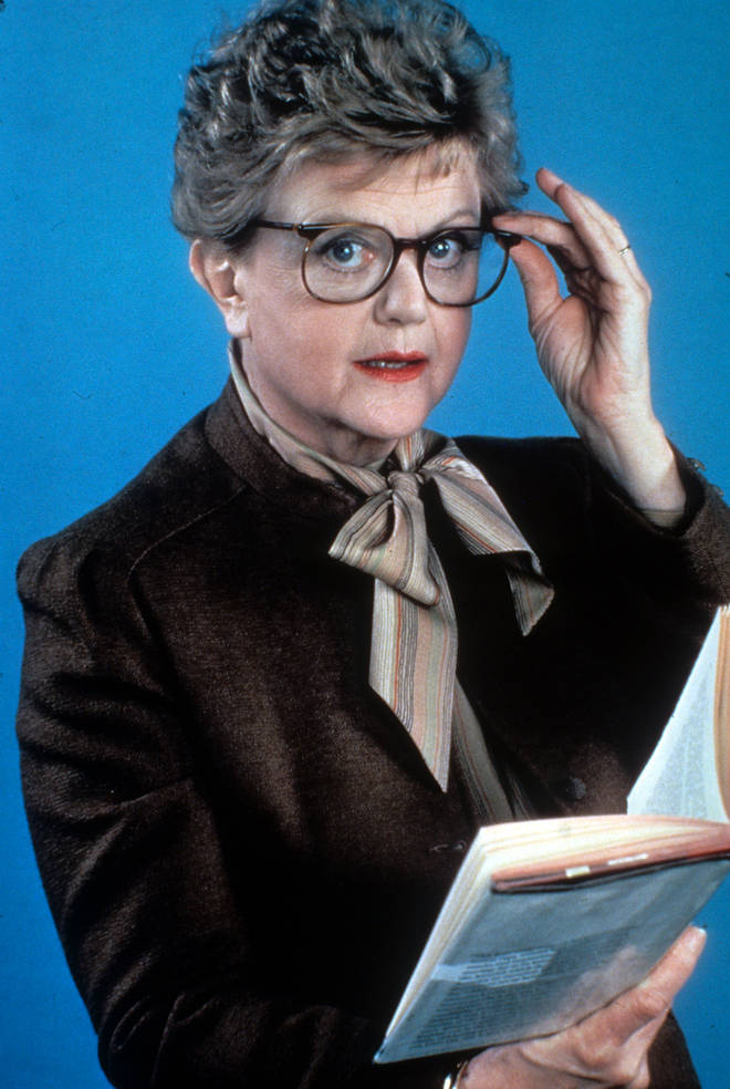 Angela Lansbury as Jessica Fletcher in 'Murder, She Wrote', 1984