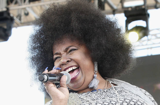 Betty Wright performing in 2017