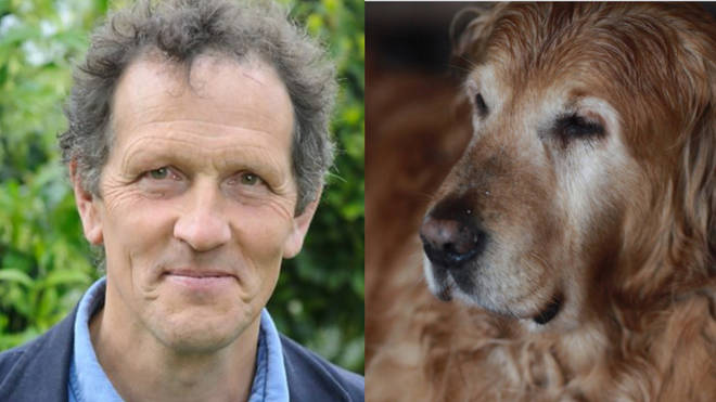 Monty Don's beloved dog Nigel has passed away
