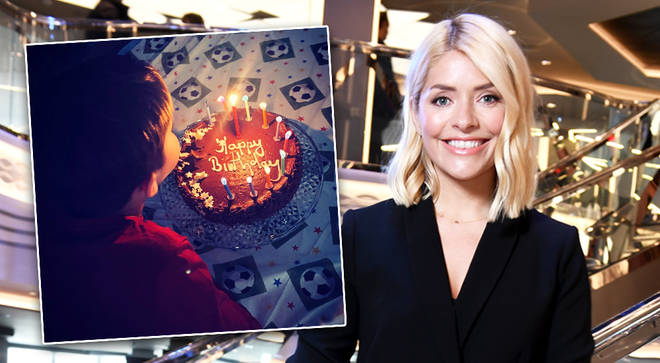 Holly Willoughby shares rare photo of eldest son Harry during 11th birthday party on Instagram