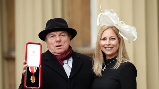 Van Morrison and daughter Shana