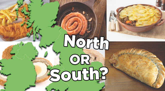 QUIZ: Make the perfect meal and we'll guess whether you're from the North or South of England