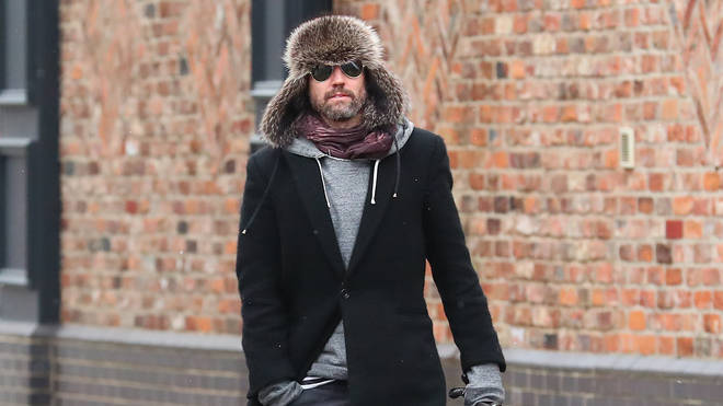Jason Orange in a rare public photo in March 2018