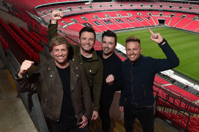 Westlife at Wembley Stadium