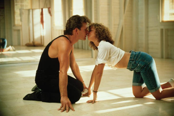 Patrick Swayze and Jennifer Grey in Dirty Dancing (1987)
