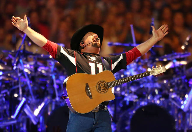 Garth Brooks has released two songs from his upcoming album, titled Fun