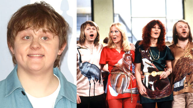 Lewis Capaldi performs emotional stripped-back cover of ABBA's 'Dancing Queen' for charity