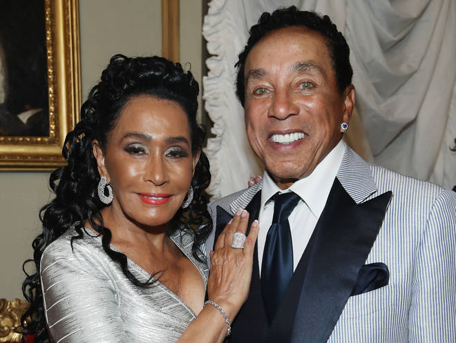 Smokey Robinson and wife Frances