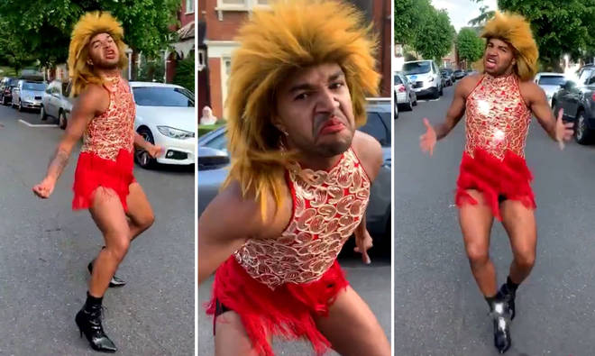 This viral TikTok video of Tina Turner street dance will definitely make you smile