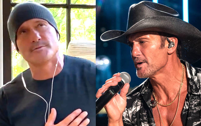 Tim McGraw performs new heartfelt song 'I Called Mama'