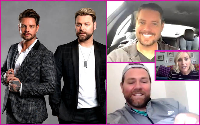 Boyzlife's Keith Duffy and Brian McFadden join Smooth's Virtual Coffee Break with Jenni Falconer