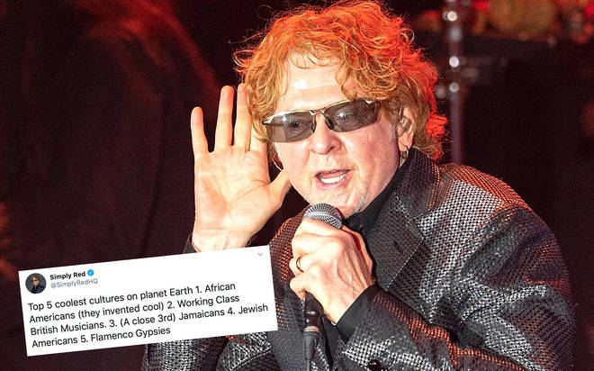 Simply Red's Mick Hucknall addresses controversial tweets after backlash