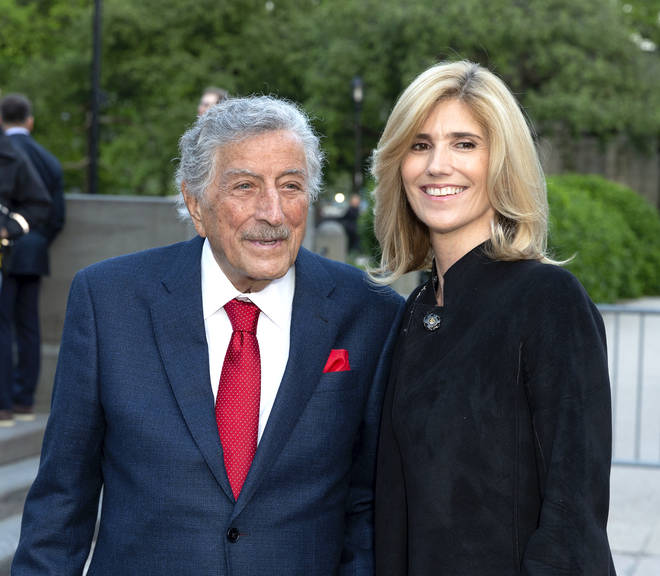 Tony Bennett married Susan Crow in 2007