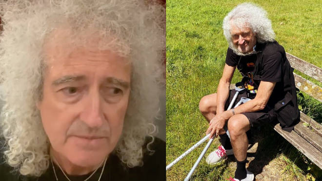 Brian May was rushed to hospital for heart surgery