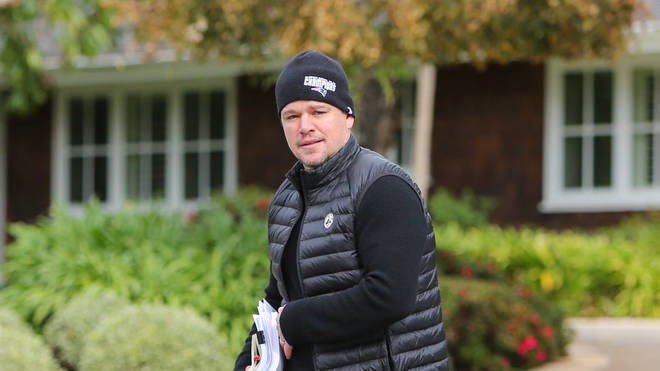 Matt Damon has been spending lockdown in Ireland