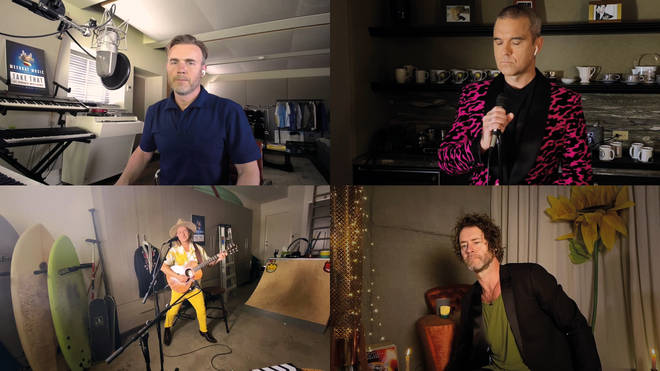Take That reunite from home for their Meerkat Music gig