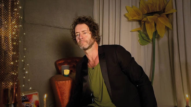 Howard Donald can be seen joining the band from his home in lockdown