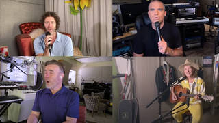 Take That reunited with Robbie Williams for an online concert