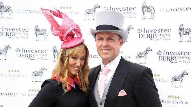 Graeme Swann and wife Sarah