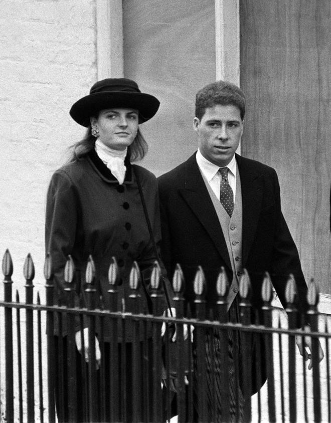 Susannah Constantine and David Linley in 1987