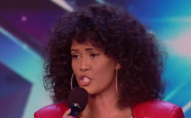Belinda Davids stuns the Britain's Got Talent team with her performance of Whitney Houston's 'One Moment In Time'