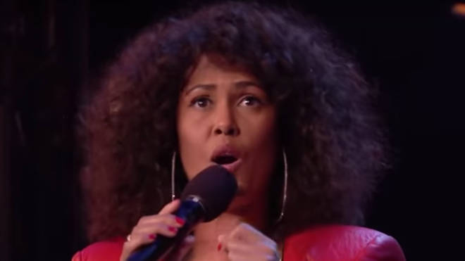 Britain S Got Talent Whitney Houston Tribute Act Stuns Judges Video Smooth