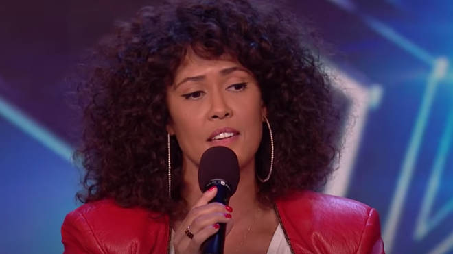 Belinda Davids stuns the judge with her voice on Britain's Got Talent