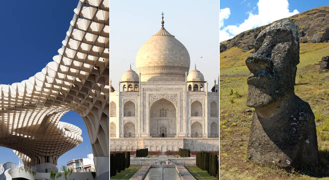 Do you know where these famous landmarks are found? Take our tricky quiz and see if you can guess correctly.