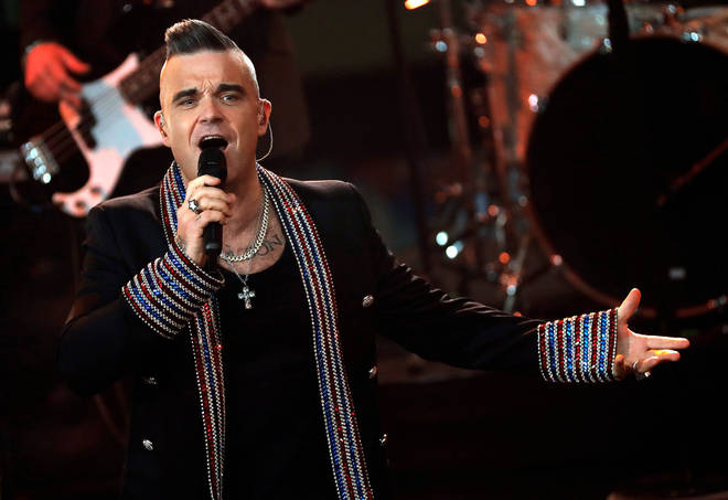 Robbie Williams has revealed he is working on a new disco album