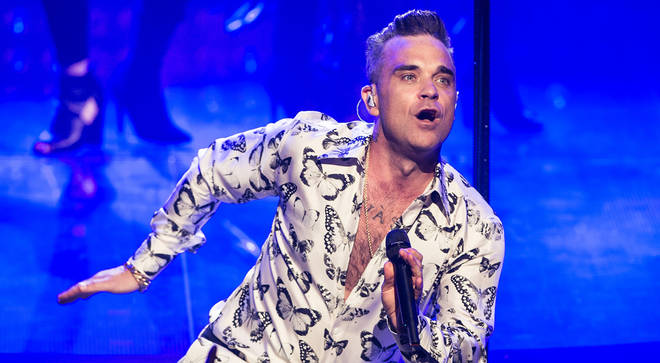 """Robbie Williams says he has recorded new music with a """"dance electronic"""" feel during lockdown"""