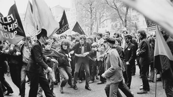 Anti-Vietnam War Demonstration in 1967