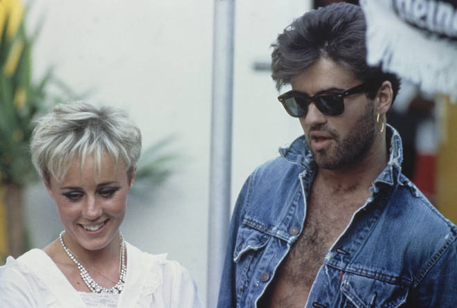 he accompanied a very nervous Shirlie on her first date with the Spandau Ballet bass player.he accompanied a very nervous Shirlie on George Michael accompanied Shirlie on her first date with Spandau Ballet bass player, Martin Kemp