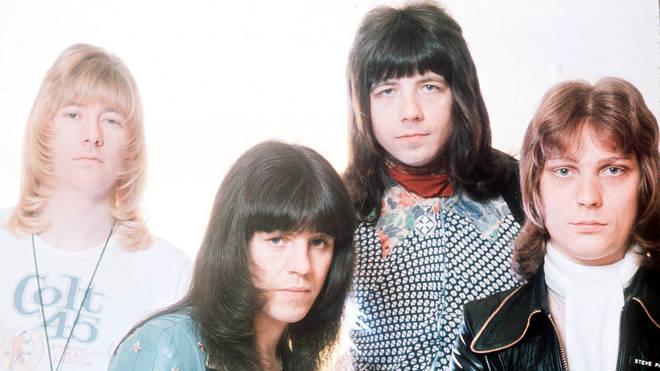 The Sweet (Steve Priest far right)