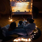 Set the scene at home for your own cinema or concert experience