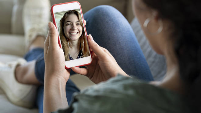 Have a video call with friends after the film to discuss what you thought of it