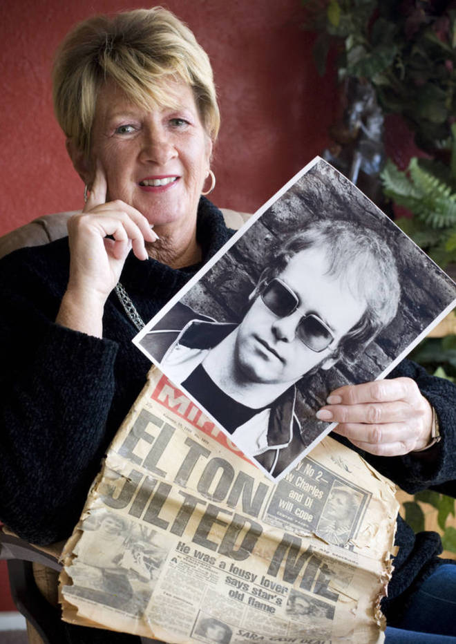 Linda Hannon met Elton John - then known as Reg Dwight - in a club in Sheffield in 1968