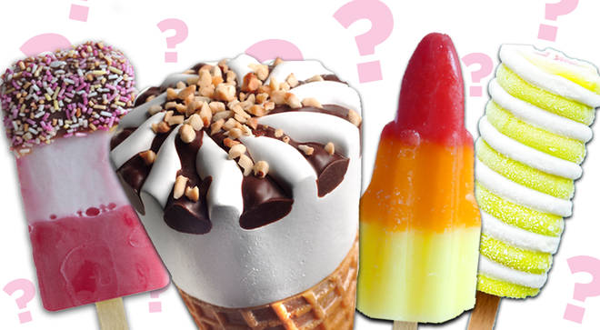 Can you guess what these ice creams are without their wrappers?