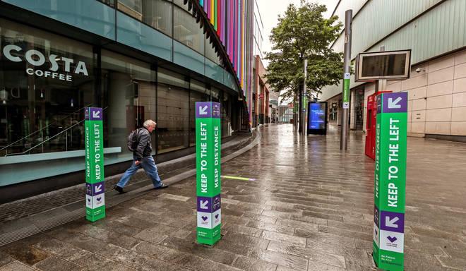 New coronavirus shopping measures in Liverpool