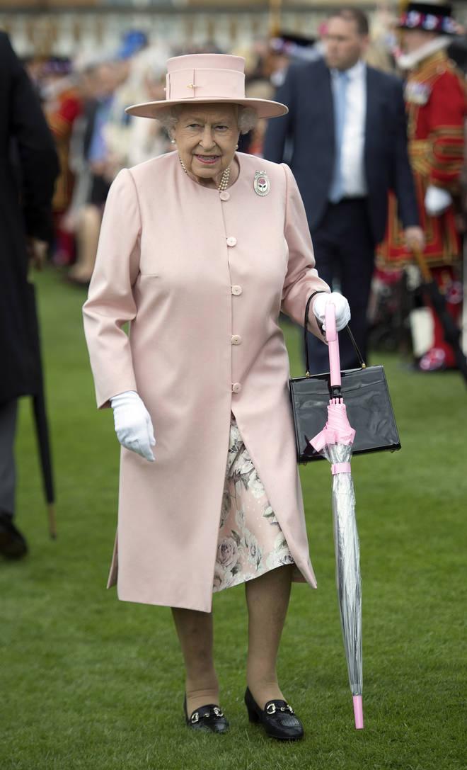 The Queen umbrella