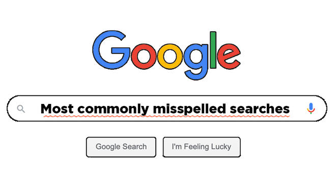 Can you spell these commonly misspelled Google searches?