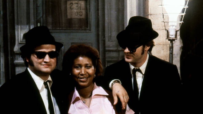 The Blues Brothers with Aretha Franklin