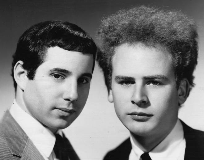Simon & Garfunkel pictured in 1965