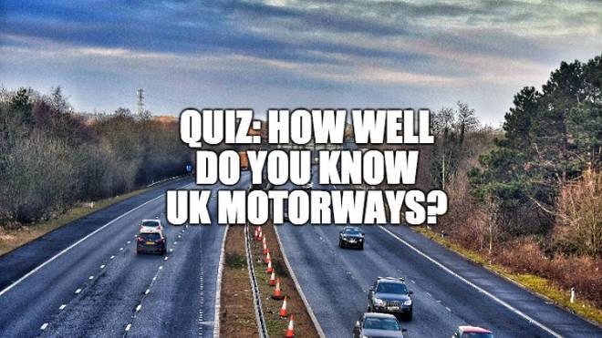 Motorway quiz