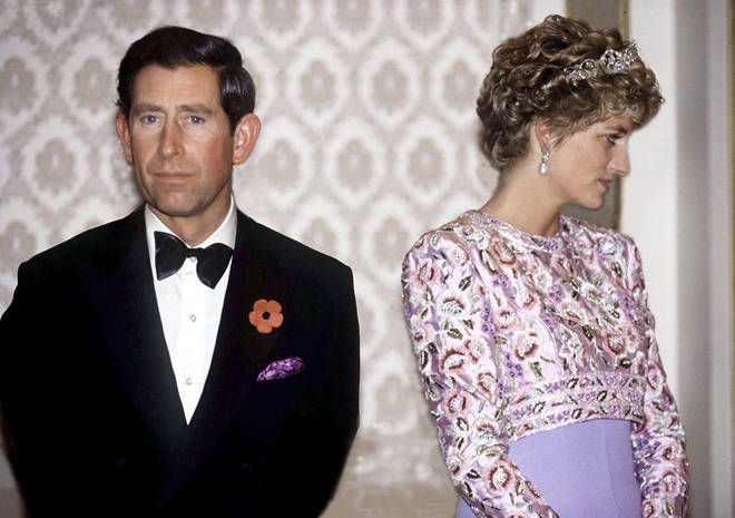 Prince Charles and Diana together