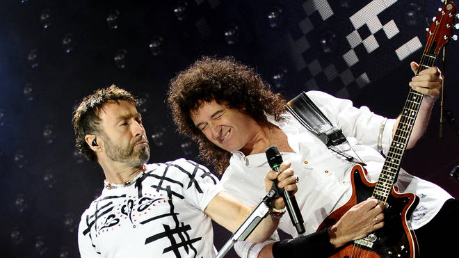 Paul Rodgers and Brian May in 2008